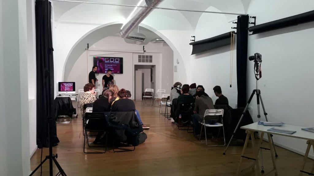 La sala che ha ospitato la presentazione