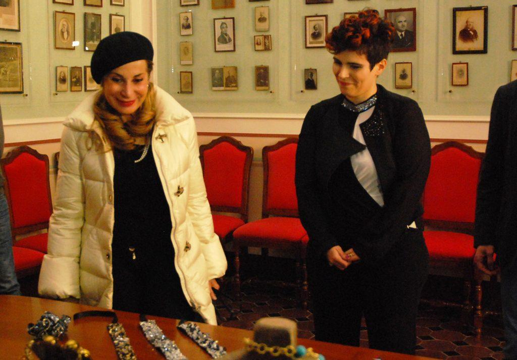 Rosanna Cancellieri e Daniela Moretti